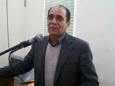 علی حسینی در مراسم زعفران در شیراز